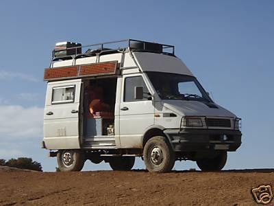 fourgon 4x4 iveco am nag camping car 17000. Black Bedroom Furniture Sets. Home Design Ideas