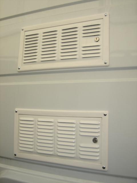 grille de ventilation du réfrigérateur